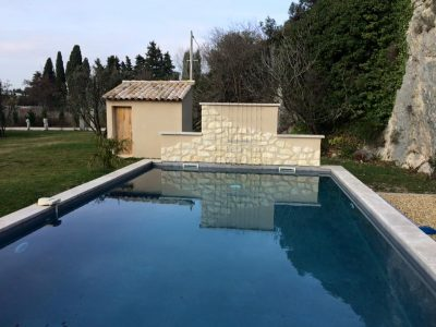 Construction piscine Robion