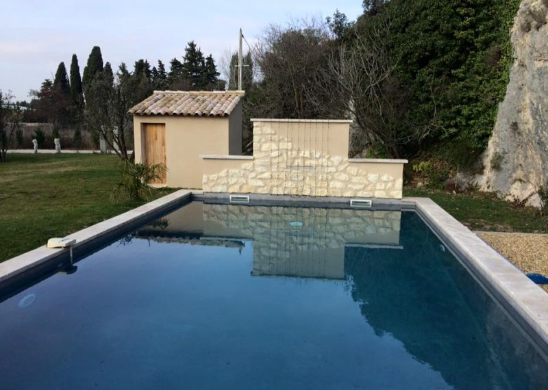 Construction piscine Robion