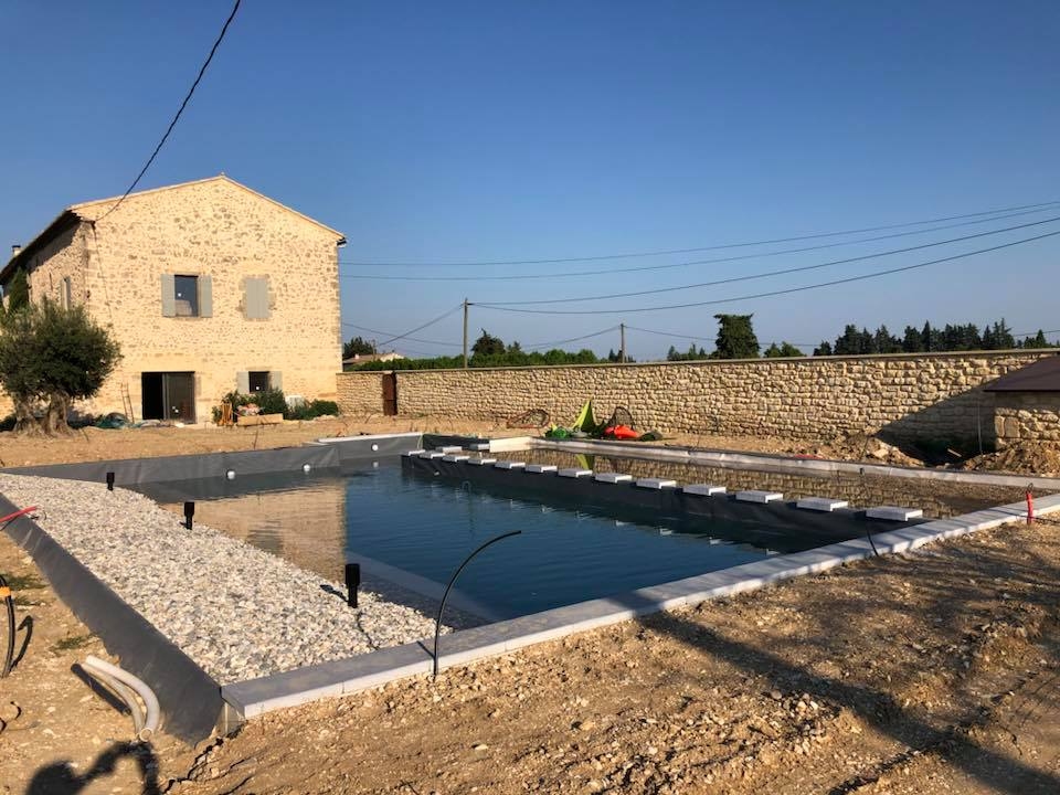 Construction piscine Avignon