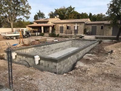 Construction piscine Vaucluse