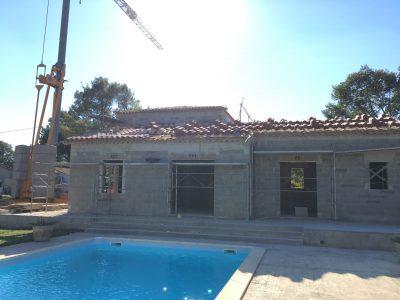 Construction Villa Vaucluse